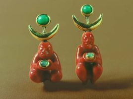 two coral figural pendants by morpho2012