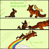 Brokenstar! by Ask-Weaselfur