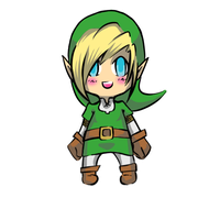Chibi Link! by GirlOfGore