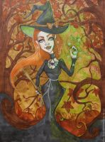 Halloween Witch 2014 by MADmoiselleMeli