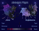 Midnight Flight - Acrux and Greensleeves by WindsweptSpirit