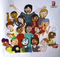 Total Drama All Stars! by wycchy
