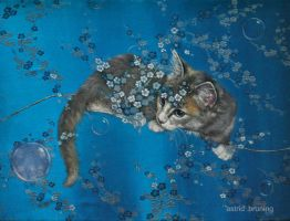 Spring Bubbles by AstridBruning