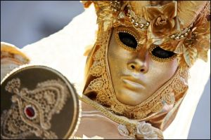 Mask of gold by svarci