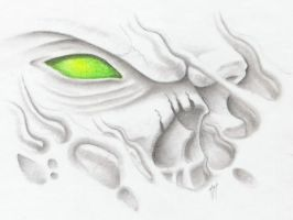 green eye by markfellows