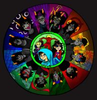 Wheel of Misfortune by NEVER2LATE2SMILE