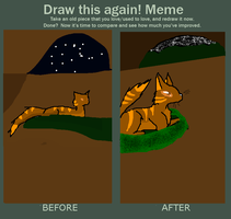 Before and after meme by Dragoonroot