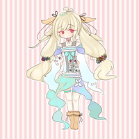 [Bid] Spring Bunny Adoptable by KokoMall