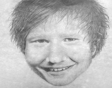 Ed Sheeran Portrait by PickleddEgg
