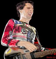 Matthew Bellamy 6 by screenprint