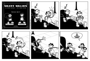 Silent Sillies 006 - Banana Split by JK-Antwon