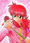 Red Soldier of Love - Kurama by LauraPaladiknight