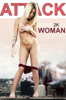 Attack of the 2000 foot Woman by bugunderherfeet