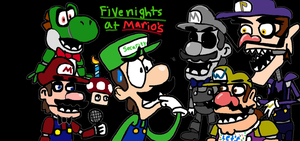 Five nights at Mario's by Oswaldtoonfan