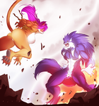 MM 2015 - Wild Kitty vs Big Bad Wolf - Seonidas by Sephzero