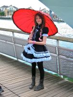EGL with parasol by ZeroKing2010