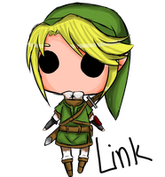 Link by LadySpiderlily
