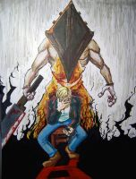 Silent Hill Magfest Commission by kevinbolk