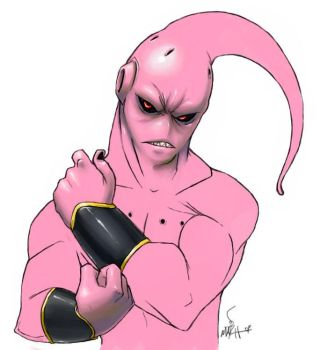 -Buu color- by MatchLight
