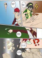 Toph vs. Gaara pg. 1 by Noerusan