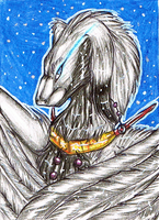 ACEO 52 - Irena by DragonOfSilverStars