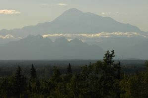 Denali from the south by MogieG123