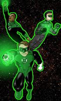 Green Lanterns by north-green