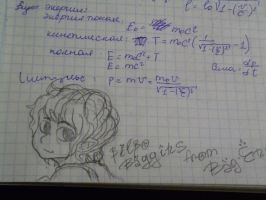Bilbo Baggins in my math note.D by GilUly