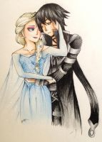 Elsa + David by Kaspiian