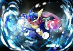 Pokemon : Greninja by revanche7th