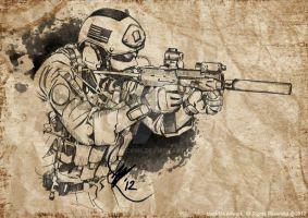 NSW - MP7A1 by blackm4