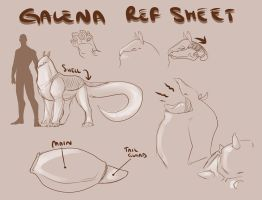 Galena Reference Sheet by Karijn-s-Basement