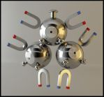 Magneton Pokemon by Akiratang