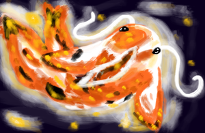 Goldfish/koi/fish thing? by TheCherryGoldfish