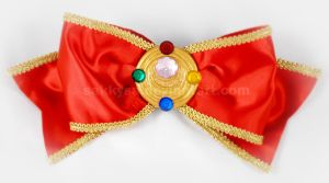 Sailor Moon La Reconquista Extra Large Hair Bow by sakkysa