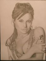 Angelina Jolie by nikkinickles