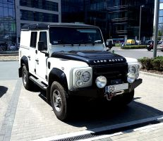 Defender in the Land of Corporobots by Basstard79