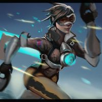 Tracer Overwatch by NocturnalBrush