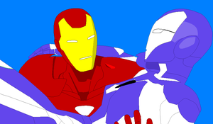 Iron Man And Rescue base by GalaxyGirl5