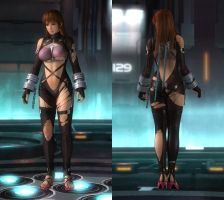 DOA Last Round's exclusive costumes (Phase4) by DoAfanboi