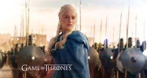 Daenerys and The Unsullied by Odinsdeath