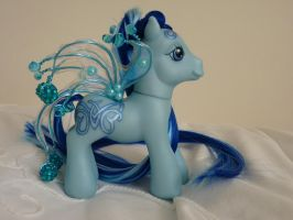 custom my little pony blue celtic 2 by thebluemaiden