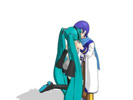 Sweet kiss on vocaloid by RockySmith