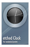 etched Clock by Hyral