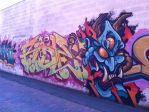 Graffiti in Erie 2 by AnaturalBeauty