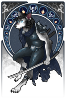 Commission: Worgen Death Knight by andarix