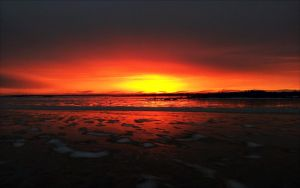 February Evening In Archipelago  by eskile