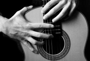 Guitar hands 2 by CromarK
