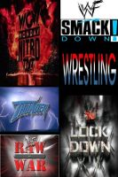 Wrestling collection DVD cover by SteveIrwinFan96