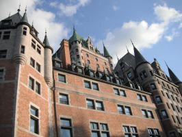Chateau Frontenac by icyyyyy